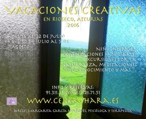 Vacaciones Creativas 2016