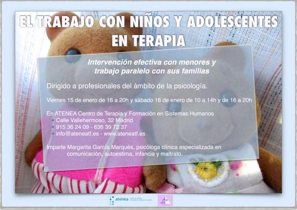El trabajo con niños y adolescentes en terapia - Atenea